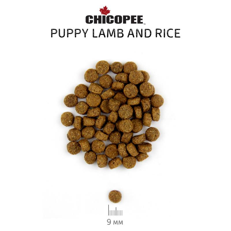 Chicopee Pro Nature Line Puppy Lamb and Rice сухой корм для щенков всех пород с ягненком и рисом - 20 кг