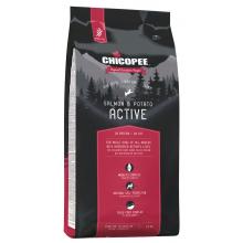 Chicopee Holistic Nature Line Active Salmon & Potato беззерновой корм для активных собак всех пород с мясом лосося и картофелем 2 кг (12 кг)