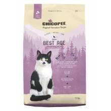 Chicopee Classic Nature Line Cat Senior Best Age сухой корм для пожилых кошек с птицей - 1,5 кг (15 кг)
