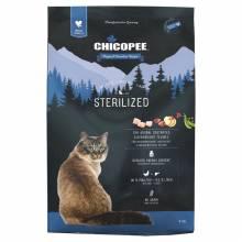 Chicopee Holistic Nature Line Cat Sterilized сухой корм для стерилизованных кошек 1,5 кг (8 кг)
