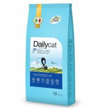 Dailycat Adult Exi Care Fish and Rice сухой корм для взрослых привередливых кошек с сельдью, лососем и рисом- 400 гр (1,5 кг) (3 кг) (10 кг)