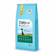 Dailycat Adult Hairball Chicken and Rice сухой корм для взрослых кошек для вывода шерсти из желудка с курицей и рисом 400 гр (1,5 кг) (3 кг), (10 кг)