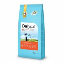 Dailycat Adult Hairball Turkey and Rice сухой корм для взрослых кошек для вывода шерсти из желудка с индейкой и рисом  400 гр (1,5 кг) (3 кг), (10 кг)