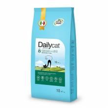 DailyCat Adult Indoor Chicken and Rice сухой корм для взрослых кошек с курицей и рисом - 400 гр (1,5 кг) (3 кг) (10 кг)
