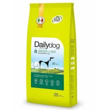 DailyDog Adult Large Breed Chicken and Rice - сухой корм для взрослых собак крупных пород с курицей и рисом 3 кг (12 кг) (20 кг)