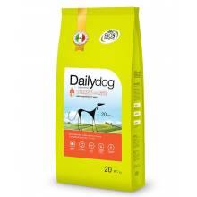 Dailydog Adult Large Breed Turkey and Rice сухой корм для взрослых собак крупных пород с индейкой и рисом 3 кг (12 кг) (20 кг)