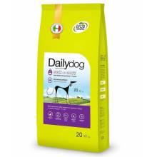 Dailydog Adult Medium Large Breed сухой корм для собак средних и крупных пород с уткой и овсом - 3 кг (12 кг) (20 кг)