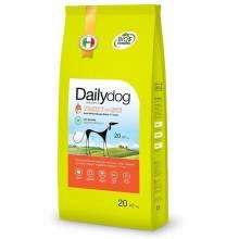 Dailydog Adult Medium Large Breed Low Calorie Turkey and Rice cухой корм для собак средних и крупных пород с индейкой и рисом 3 кг (12 кг) (20 кг)