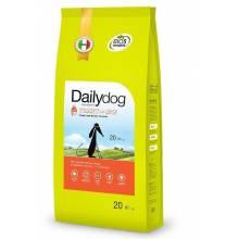DailyDog Puppy Large Breed turkey and rice сухой премиальный корм с индейкой и рисом для щенков крупных пород 3 кг (12 кг) (20 кг)