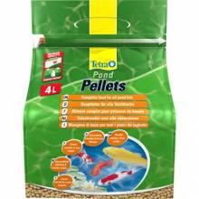 Корм Tetra Floating Pellets M для прудовых рыб в шариках - 4 л