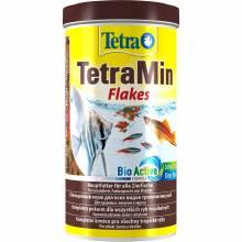 Корм Tetra Min для всех видов рыб в виде хлопьев - 500 мл (1 л, 10 л)
