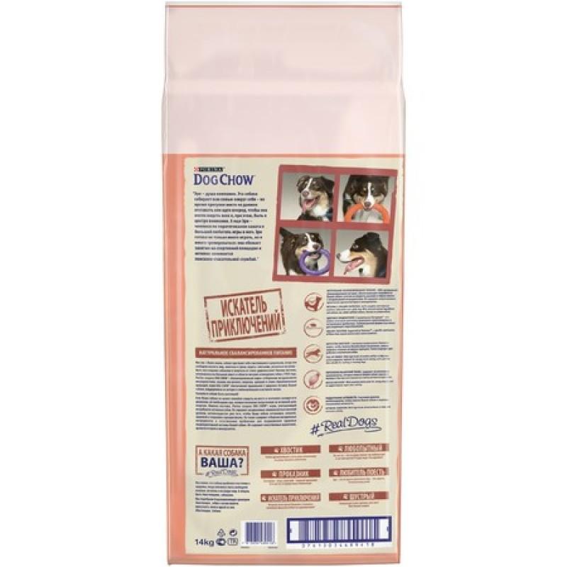 Dog Chow Adult Active для взрослых собак любой породы, испытывающих большие физические нагрузки - 14 кг