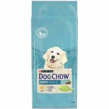 Dog Chow Puppy & Junior Chicken - сухой корм Дог Чау для щенков всех пород с курицей 14 кг