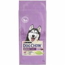 Dog Chow senior 9+ Сухой корм для пожилых собак старше 9 лет с ягненком 14 кг