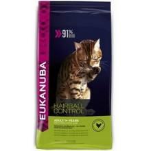 Eukanuba Cat Hairball для кошек для вывода шерсти с птицей 400 гр (2 кг)