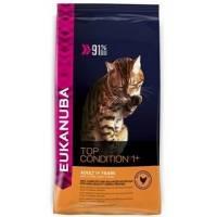 Eukanuba Cat Adult корм для взрослых кошек с домашней птицей 400 гр (1,5 кг ) (10 кг)