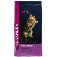 Eukanuba Kitten Healthy Start для котят, беременных и кормящих кошек с курицей 400 кг (2 кг) (5 кг)