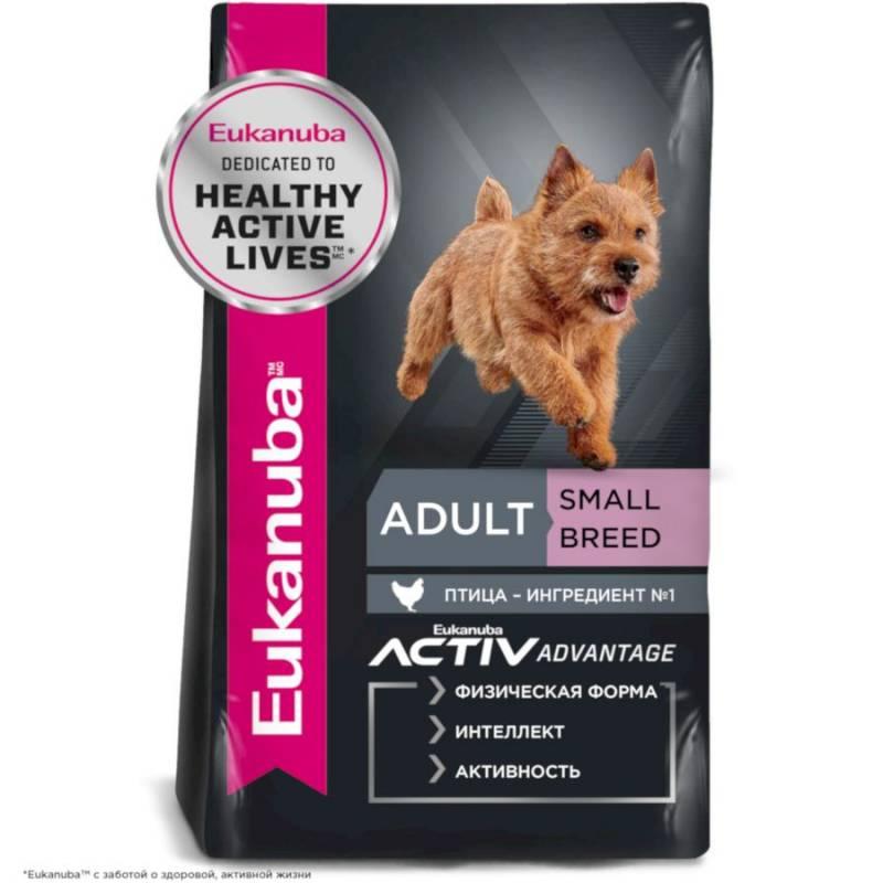 Eukanuba Adult Small Breed - корм для собак мелких пород 3 кг (15 кг)