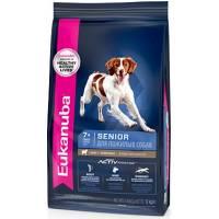 Eukanuba Mature & Senior сухой корм для пожилых собак всех пород с ягненком и рисом 2,5 кг (12 кг)