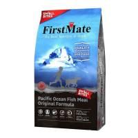 FirstMate Pacific Ocean Fish Meal Original Small Bites сухой беззерновой корм для взрослых собак мелких пород с рыбой 2,3 кг (6,6 кг)
