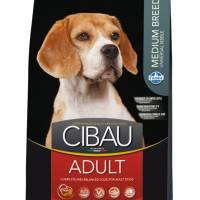 Farmina Cibau Adult Medium сухой корм для собак средних пород с курицей 2,5 кг (12 кг)