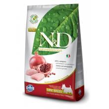 Farmina N&D сухой корм для взрослых собак мелких пород с курицей и гранатом 0,8 кг (2, 5 кг) (7 кг)
