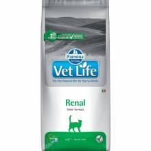 Farmina Vet Life Cat Renal ветеринарный корм для взрослых кошек и котов с почечной и сердечной недостаточностью -  2 кг (5 кг) (10 кг)