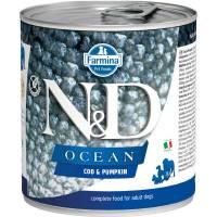 Farmina N&D Ocean влажный корм для собак с треской и тыквой - 285 г х 6 шт