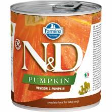 Farmina N&D влажный корм для взрослых собак с тыквой и олениной - 285 г х 6 шт