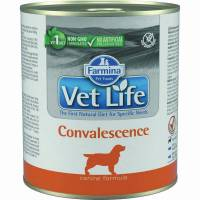 Влажный корм Farmina Vet Life Convalescence для собак в восстановительный и послеоперационный период с курицей - 300 г х 6 шт