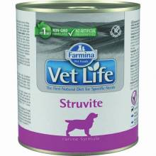 Влажный корм Farmina Vet Life Struvite для собак при МКБ струвитного типа с курицей - 300 г х 6 шт