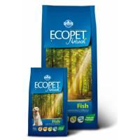 Farmina Ecopet Natural Fish сухой корм с рыбой для взрослых собак всех пород - 12 кг