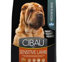 Farmina Cibau Sensitive Lamb Medium & Maxi корм для собак с ягненком и рисом 2,5 кг (12 кг)