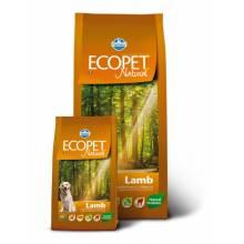 Farmina Ecopet Natural Lamb сухой корм с ягненком для взрослых собак всех пород с нарушениями пищеварения и аллергией - 12 кг