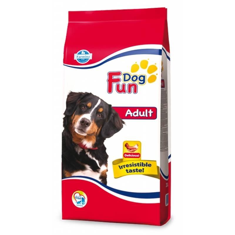 Farmina Fun Dog Adult сухой корм с курицей для взрослых собак всех пород 10 кг (20 кг)