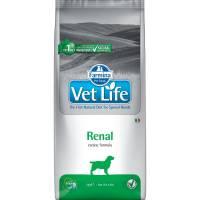 Farmina Vet Life Dog Renal ветеринарный диетический сухой корм для взрослых собак с хронической почечной и сердечной недостаточностью - 2 кг (12 кг)