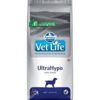 Farmina Vet Life Dog Ultrahypo ветеринарный диетический сухой корм для взрослых собак с аллергическими пишевыми реакциями и атопиями - 2 кг (12 кг)