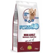 Forza10 Maintenance для взрослых собак мелких пород из ягненка с рисом - 2 кг