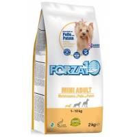 Forza10 Maintenance для взрослых собак мелких пород из курицы и картофеля 2 кг