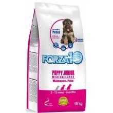 Forza10 Maintenance из рыбы для щенков средних /крупных пород (с 2,5 мес ), также для сук в период беременности и лактации из рыбы - 15 кг