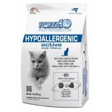 Forza10 Hypoallergenic Active сухой корм для взрослых кошек с проблемами пищевой непереносимости и аллергии с рыбой 454 г