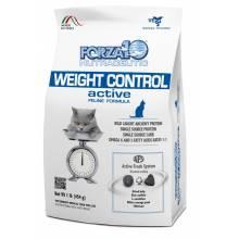 Forza10 Weight Control Active сухой корм для взрослых кошек для снижения избыточного веса с рыбой 454 гр.
