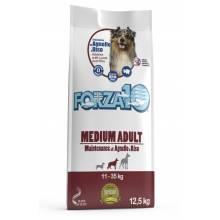 Forza10 Maintenance для взрослых собак средних пород из мяса ягненка и рисом 12,5 кг