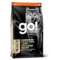 GO! Carnivore GF Lamb + Wild Boar Сухой беззерновой корм для собак всех возрастов c ягненком и мясом дикого кабана 1,59 кг (5,45 кг) (10 кг)
