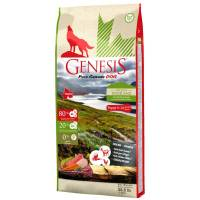 Genesis Pure Canada Green Highland Puppy сухой корм для щенков, юниоров, беременных и кормящих взрослых собак всех пород с курицей, козой и ягненком - 2,268 кг (11,7 кг)
