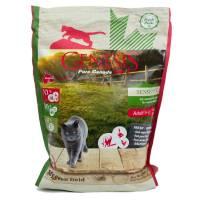 Genesis Pure Canada My Green Field Sensitive сухой корм для взрослых кошек с чувствительным пищеварением с говядиной, гусем и курицей 340 гр (2,268 кг)
