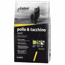 Golosi Cat Adult сухой корм для кошек с курицей и индейкой - 400 г (1,5 кг) (7,5 кг) (20 кг)