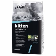 Golosi Kitten сухой корм для котят с курицей и рисом - 400 г (1,5 кг)