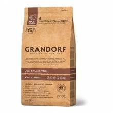 Grandorf duck & Potato Adult All Breeds сухой корм для собак всех пород, утка с картофелем - 1 кг (3 кг) (12 кг)