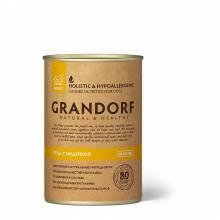 Grandorf Duck With Turkey влажный корм для собак всех пород, утка с индейкой - 400 г